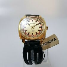 NOS New Old Stock-Vintage Very Rare Bifora Lasso Herren Armband 70erJahre Uhr-18