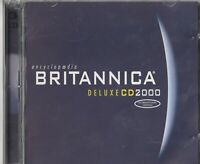 Classic Pc Software - Encyclopedia Britannica - Deluxe - 2000 - International Ve