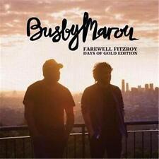 BUSBY MAROU FAREWELL FITZROY Days of Gold Edition 5 Extra Tracks DIGIPAK CD NEW