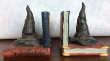 Harry Potter Sorting Hat Bookend Pair Warner Bros. 2000