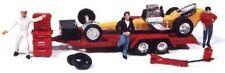 Jl Innovative 922 x Ho Vintage Dragster w/Trailer, Tools, Acc Metal Kit