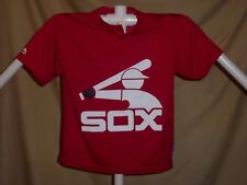 "CHICAGO WHITE SOX ""Cool Base"" BASEBALL JERSEY by MAJESTIC Youth Medium NWT  red"