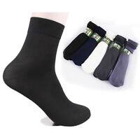 10 Pairs Summer Mens Short Bamboo Fiber Socks Stockings Middle Socks Set