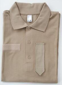BH KAZ03 Polo, beige, khaki, TSCHAD Poloshirt, Austrian Army Polo-Shirt
