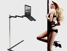 Height adjustable bedside / floor/office stand for laptop/notebook ( 11-16 inch)