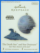 The Death Star and Star Destroyer Star Wars: Return of the Jedi Hallmark 2008