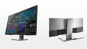"""Dell P4317Q 43"""" Ultra HD Multi Client LED IPS HDMI DP Monitor Built-in Speakers"""