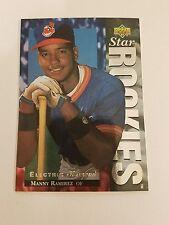 1994 UPPER DECK ELECTRIC DIAMOND #23 MANNY RAMIREZ ROOKIE RC INDIANS NM-MT