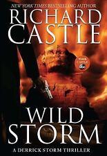 NEW A Derrick Storm Wild Storm 2 Richard Castle 2014 Hardcover