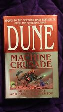 Dune Machine Crusade by Brian Herbert & Kevin J Anderson HCDJ 1st/1st SIGNED X2