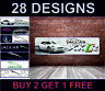 Jaguar Xkr Tipo Poster Striscione Garage Officina Concessionario Ufficio Camera
