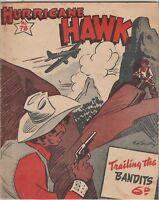Australian Western Comic: Hurricane Hawk #78 Fitchett Brothers 1946