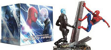 BLU RAY The amazing Spider-Man 1+2 Limited Collector's con statuina in resina
