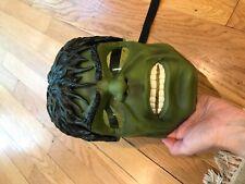 Incredible Hulk Face Light Up Mask Costume Toy Lights Work.