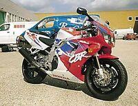 R&G Black Classic Style Crash Protectors for Honda CBR900 Fireblade 1993