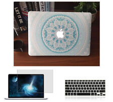"""Hard Case Shell Keyboard Cover LCD Film For Macbook Pro 13/15"""" 16"""" Air 11/13""""LS"""