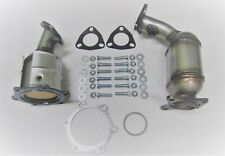 Fits: 2004-2008 Nissan Maxima 3.5L Radiator & Firewall Side Catalytic Converters