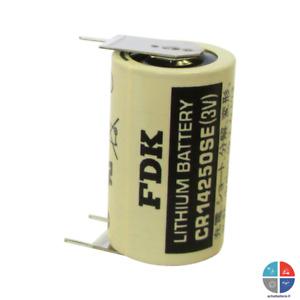 Pile lithium 3v CR14250SE-D 1/2AA 900mah à souder