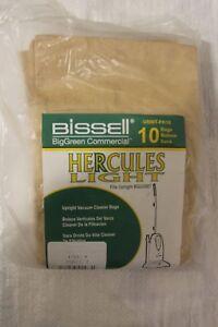 NEW U500T-PK10 Bissell BigGreen Commercial Vacuum Bag BGU500T 10 PK
