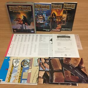 AD&D 2nd Ed Forgotten Realms City Of Spendors Campaign Expansion 1109 - TSR 1994