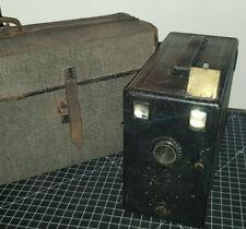 Ancien Grand Appareil Photo Murer & Duroni Express Newness SL M Detective + Etui