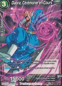 Dragon Ball Super - Dabra, Cérémonie en Cours : C BT13-137