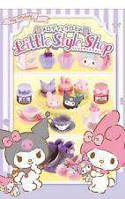 Miniatures Sanrio My Melody and Chromi's Little Style Shop box  Set  - Re ment