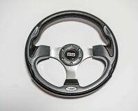 Ultra Golf Cart Steering Wheel Carbon Fiber 13 Inch EZGO YAMAHA Club Car