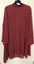 Womens' Plus Size Who What Wear Red Striped Dress - 4X NWT