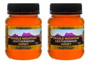 Tasmanian Leatherwood Honey,  Cradle Mountain, 2 * 500gms, Free shipping,