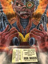 Vintage Iron Maiden Shirt 1987 Somewhere in Time Tye Dye Concert shirt. M or L ?