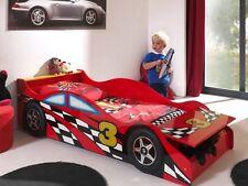 """Vipack: Autobett """"RACE CAR"""" 70 x 140 mit Lattenrost - Kinderbett Juniorbett"""