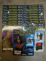 * 21 THE OFFICIAL STAR WARS FACT FILE BOOKS by DEAGOSTINI * UK FREE POST * P/B*