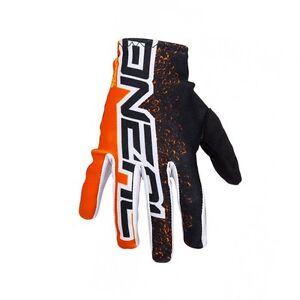 O'Neal Matrix E2 MTB DH FR Mountain Bike Full Finger Gloves Orange Size XL