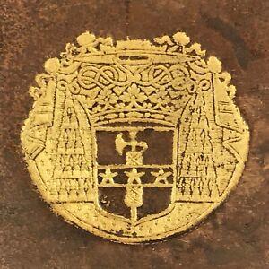 Reliure aux Armes HISTOIRE DE CHARLES VIII 1691 Varillas ÉDITION ORIGINALE