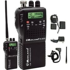 Midland 75-822 Handheld Portable Mobile CB Radio 75-820 VHF NOAA Weather NEW