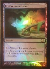 Rivière souterraine Xème PREMIUM / FOIL VF - French Underground River Magic mtg