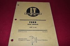 Ford 8000 9000 Tractor I&T Shop Manual SKCA