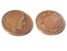 Objet de collection médaille bronze  F. Flornoy signée H. Dubois 1967