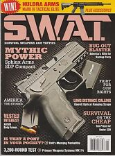 S.W.A.T. Magazine May 2014, Survival Weapons And Tactics Guns.