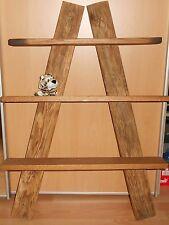 Eichenholz Wandregal 63cm x 90cm 200 jähriges Holz Regal Voll Eiche Konsole