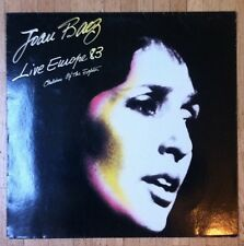 JOAN BAEZ Live Europe '83 - Children Of The Eighties LP/GER