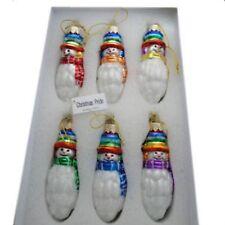 Christmas Pride Ornaments Gay Pride Rainbow Snowmen