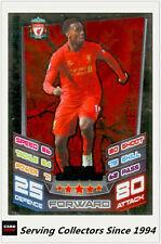 2012-13 Match Attax Extra Star Signing Foil Card S2 Daniel Sturridge (Liverpool)