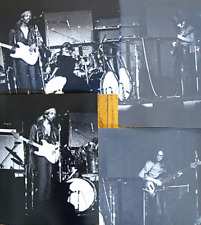 LOT OF 4 JIMI HENDRIX RARE RAW PHOTOS FROM ORIG NEG 1969 LA FORUM CONCERT +BONUS