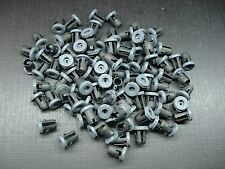 "100 pcs 1/8"" x 3/16"" emblem script name plate tubular barrel nuts with sealer GM"