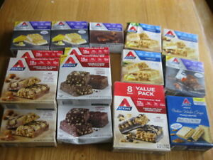 88 Asso.  ATKINS - ADVANTAGE  ENDULGE - PROTEIN MEAL SNACK TREAT BARS