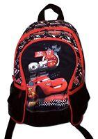 Disney Cars Kinderrucksack/Rucksack mit Vordertasche + Netztaschen