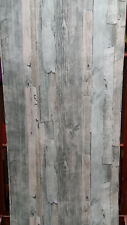 Green, Distressed, Weathered Look, Wood Effect Wallpaper