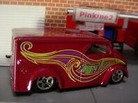 Since 68 Hot Wheels DAIRY DELIVERY☆Magenta-plum; Green/Yellow☆LOOSE☆HW Originals